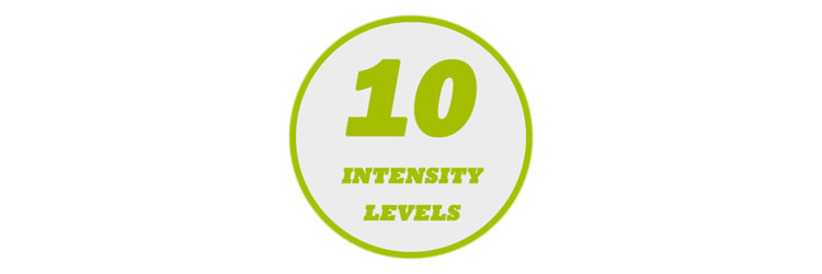 10 Levels of Output Intensity