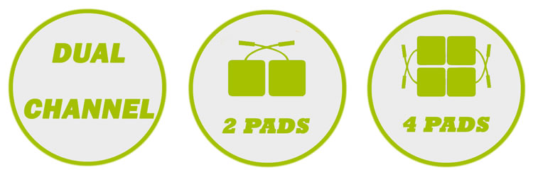 Dual Channel & Use with two Pads or four Pads