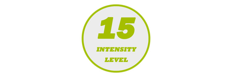 15 Levels of Output Intensity