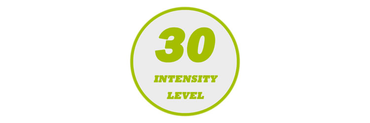 30 Levels of Output Intensity