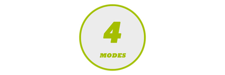 4 TENS Modes
