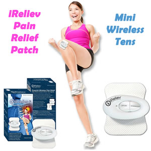 iReliev Pain Relief Patch Mini Wireless Tens