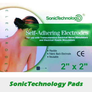 SonicTechnology - Pre Gelled Self Adhesive Electrode Pads